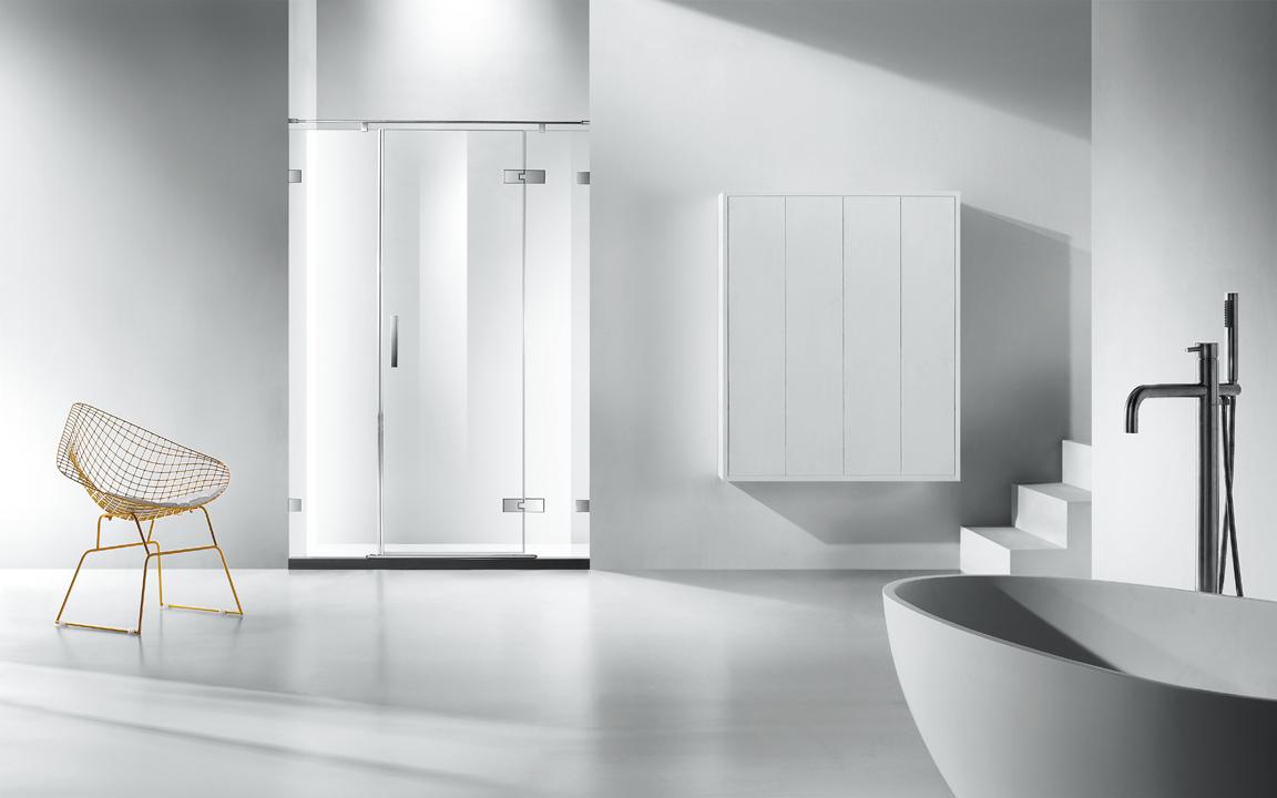 折形淋浴房